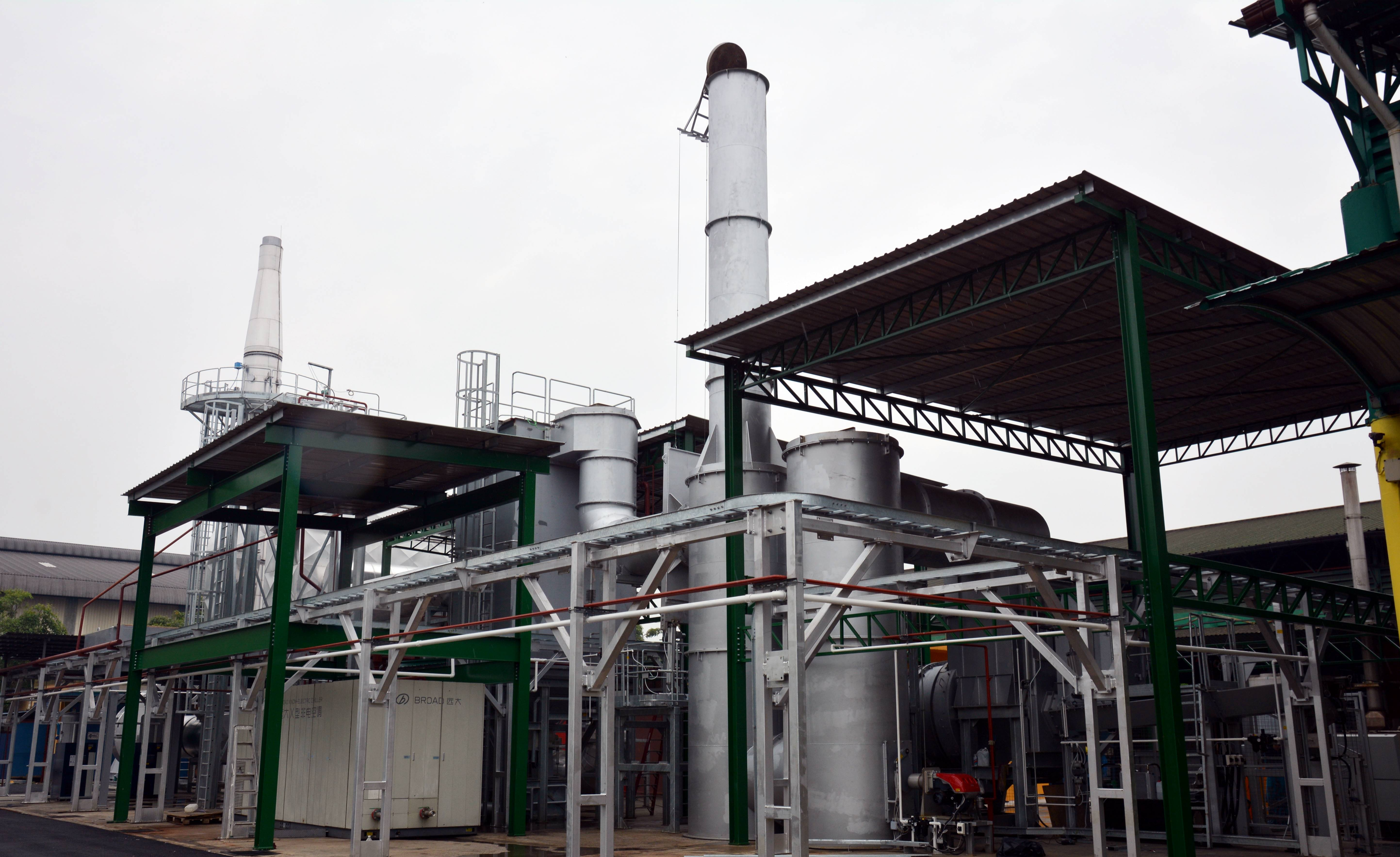 Combustible Incineration Plant at Clinwaste