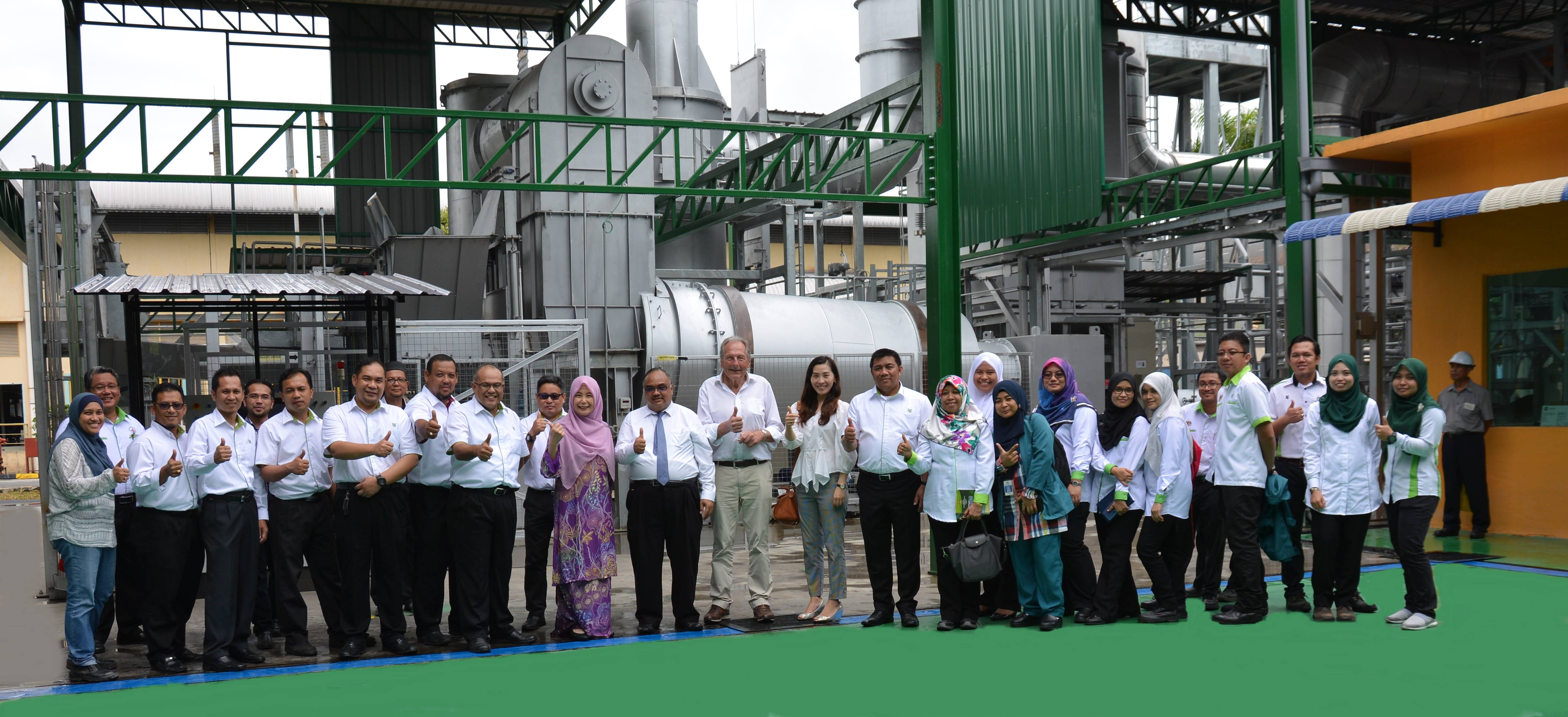 Official Visit from Department of Environment